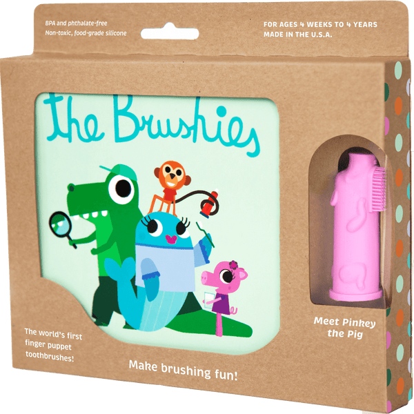 Pinkey the Pig and the Brushies Book