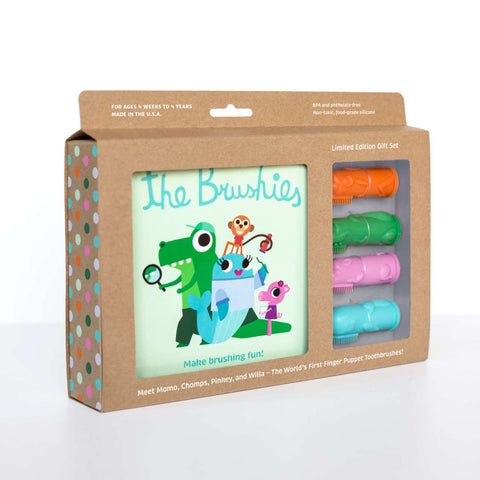 The Brushies Gift Set – The Whole Brushies Team - Little Owly