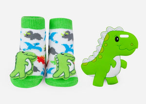Dino Teether Gift Set - Little Owly