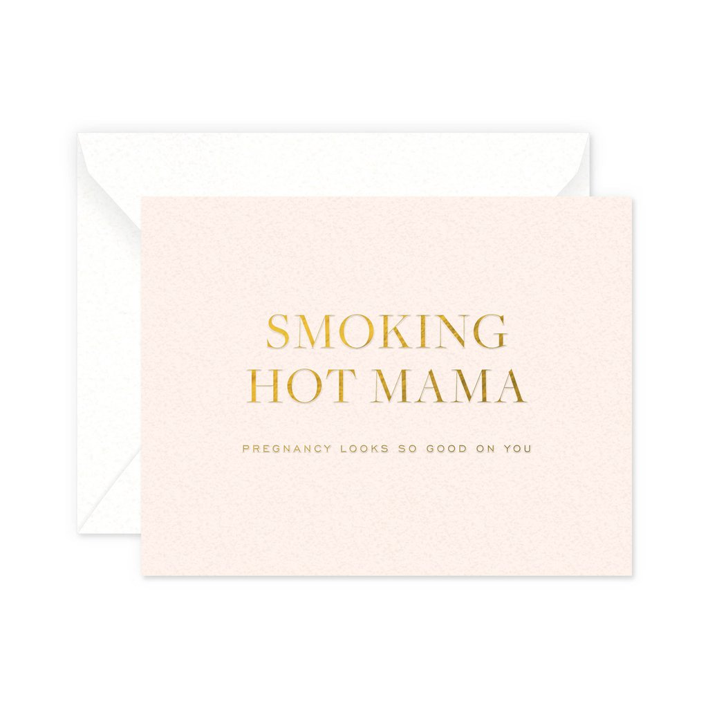 Hot Mama Greeting Card - Little Owly