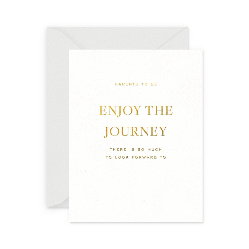 Enjoy the Journey Greeting Card - Little Owly
