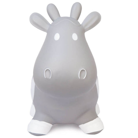 Howdy Cow Inflatable Rubber Ride-On Hopper Toy - Little Owly