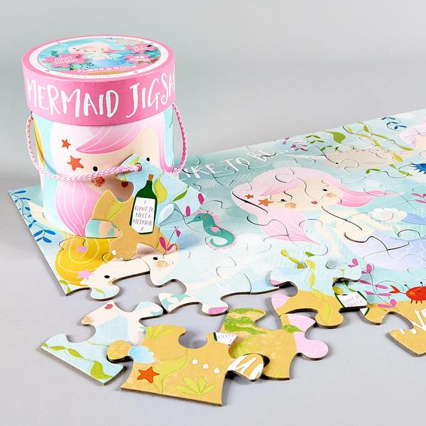 Mermaid 48-Piece Giant Jigsaw - Little Owly