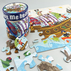 Ahoy Me Hearties 48-Piece Giant Jigsaw - Little Owly