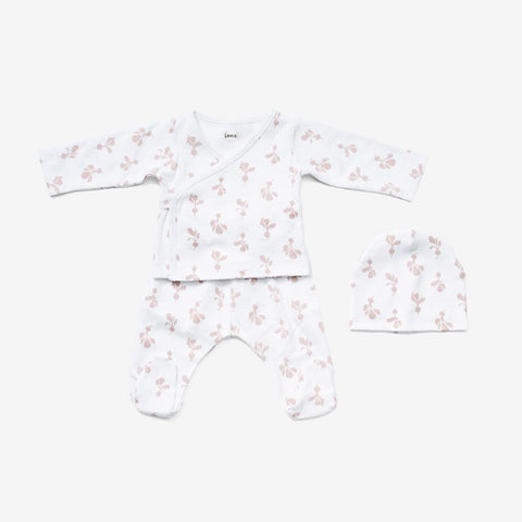 Mini Radish Newborn Kimon Set - Little Owly