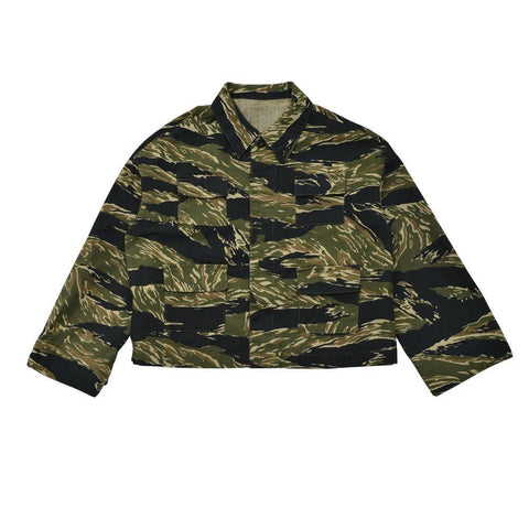 Camo Print Utility Jacket - Little Owly