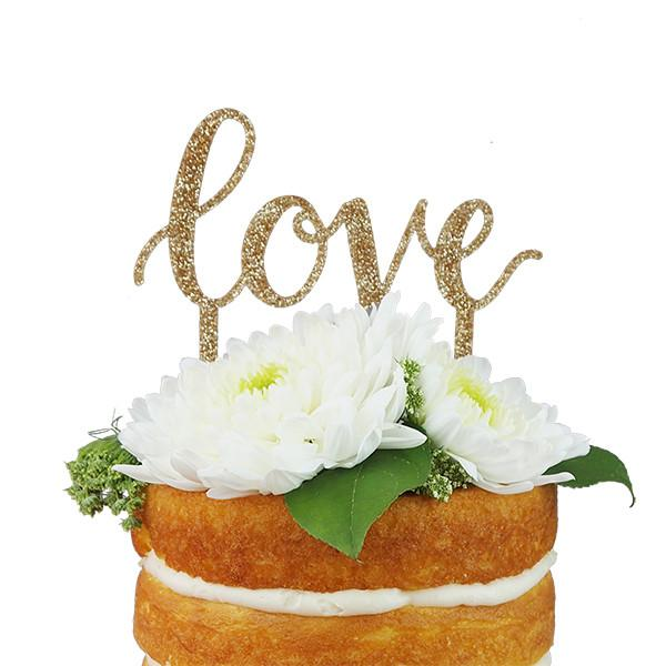 Love Cake Topper - Little Owly