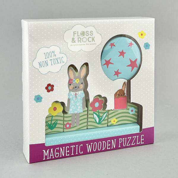 Bunny Magnetic Puzzle - Little Owly