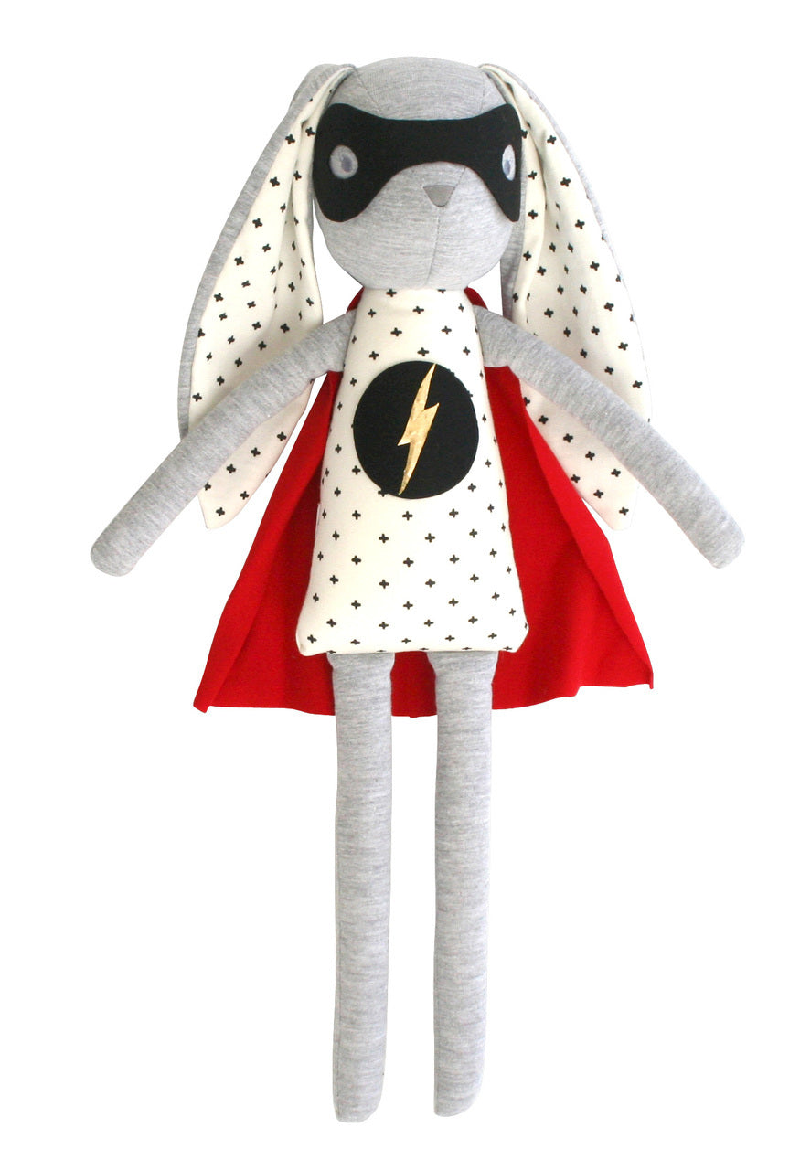 Superhero Bunny Doll - Little Owly
