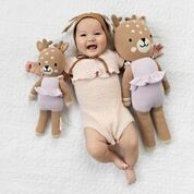 Violet the Fawn Cuddle + Kind Doll - Little Owly