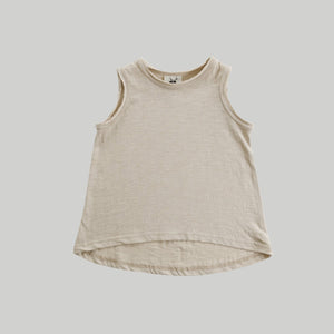 Oat Singlet Top - Little Owly