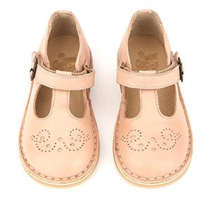 Penny Baby Leather T-Bar Shoes - Little Owly