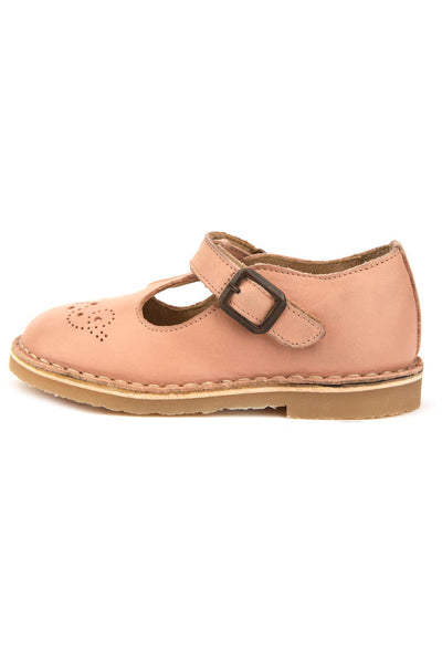 Penny Child Leather T-Bar Shoes - Little Owly