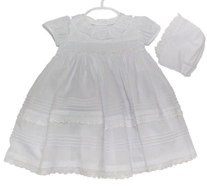 Christening Dress - Short - Little Owly