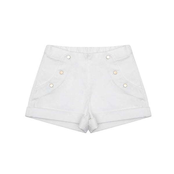 Carmen White Shorts - Little Owly