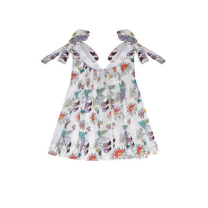 Inez Bow and Pinafore Top - Little Owly