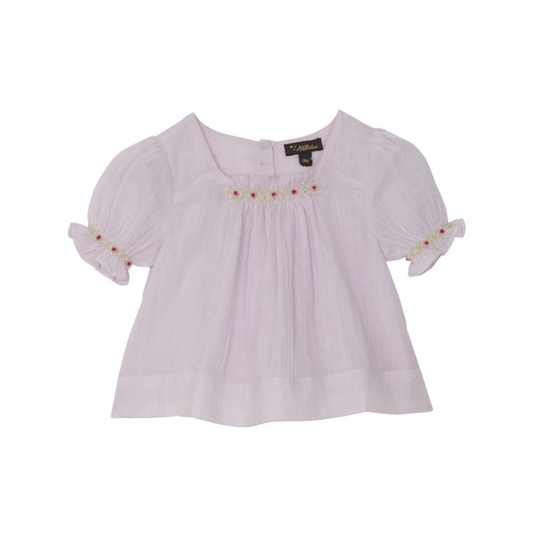 Peggy Embroidered Top - Little Owly