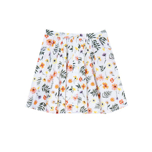 Chrissy Pressed Flowers Skirt - Little Owly
