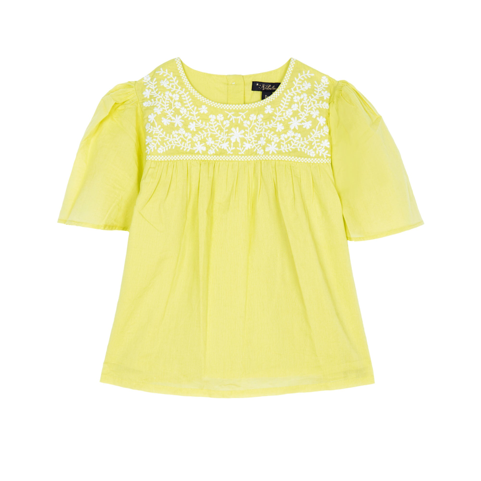 Asha Embroidered Top - Little Owly