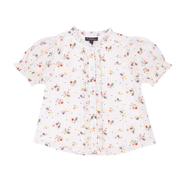 Emma Puff Sleeve Shirt - Little Owly