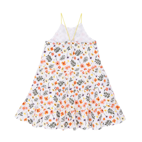 Lara Strappy Tiered Dress - Little Owly