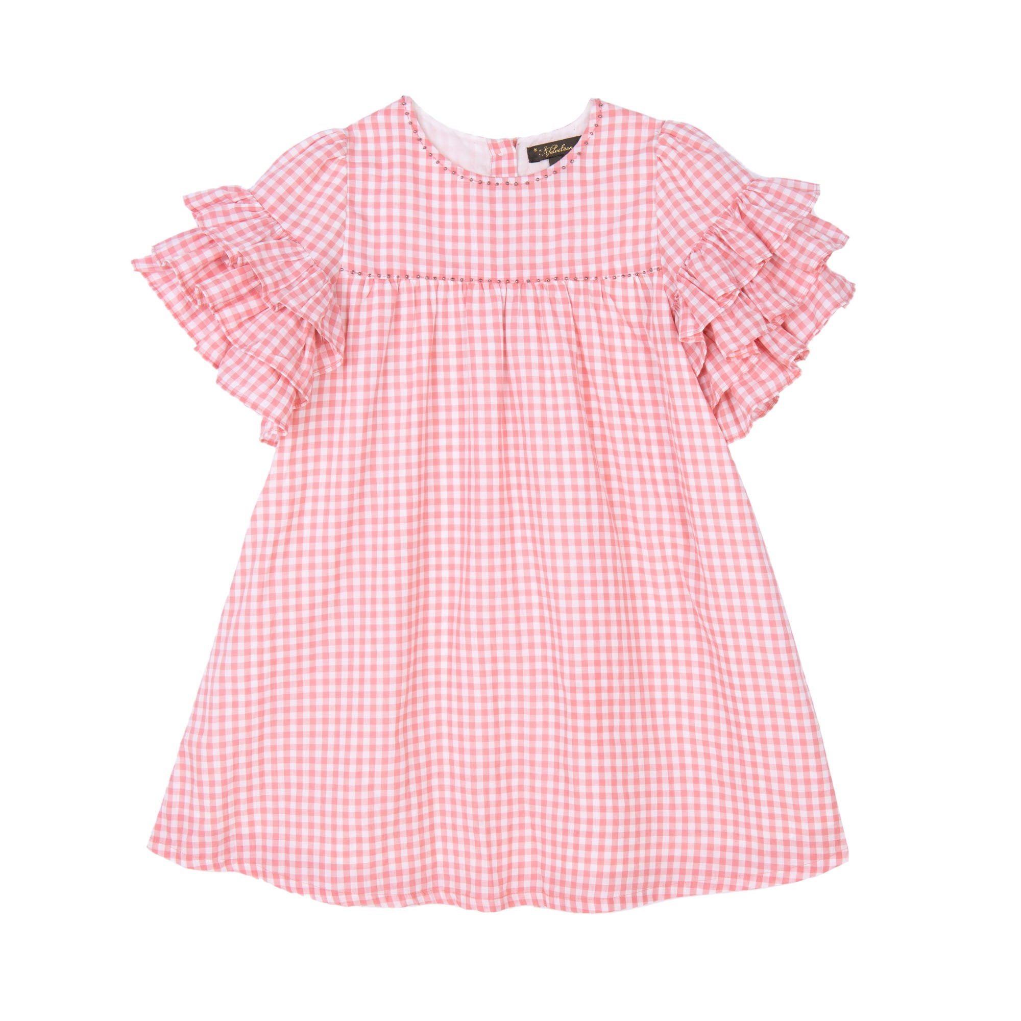 Ginny Gingham Dress - Little Owly