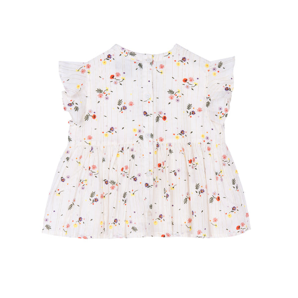 Marigold Floral Shirt - Little Owly