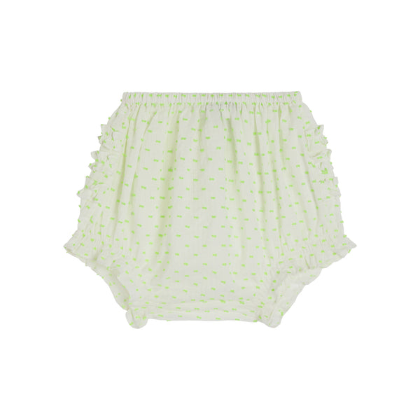 Cecily White Dobby Bloomers - Little Owly