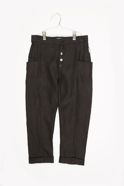 Carmen Black Pants - Little Owly