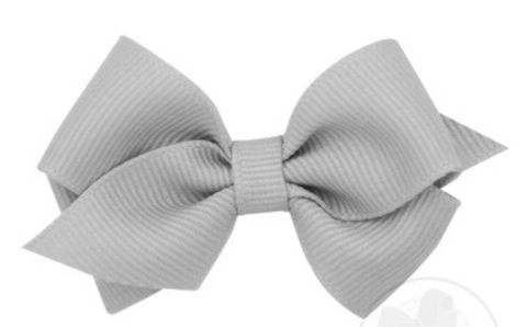 Wee Grosgrain Hair Bow - Little Owly