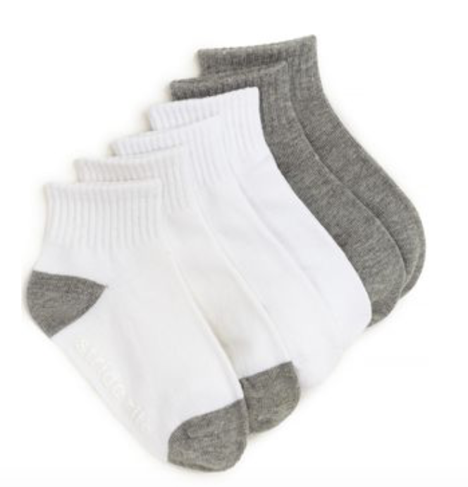 Nate Quarte Silicone Non Skid Sock (3-pack) - Little Owly