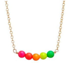 Swarovski Neon Pearls Necklace - Little Owly