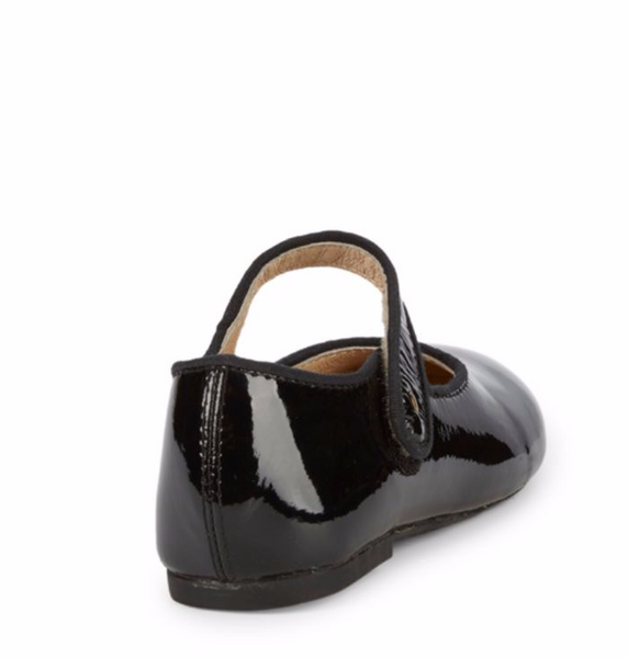 Praline Lady Jane Black Patent Shoes - Little Owly