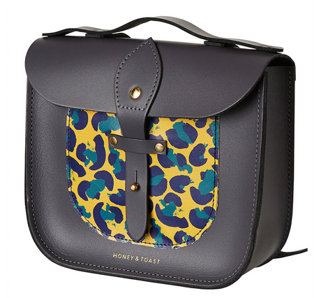 Leopard Print Rocket Scooter Satchel - Little Owly