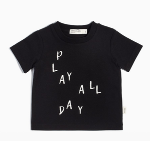 Miles Basic Play All Day T-Shirt - Little Owly