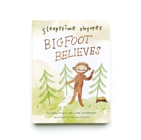 Sleepytime Rhyme - Bigfoot Believes Self Esteem Book - Little Owly