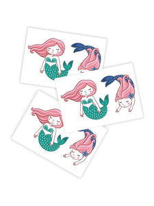 Mermaids Temporary Tattoo - Little Owly