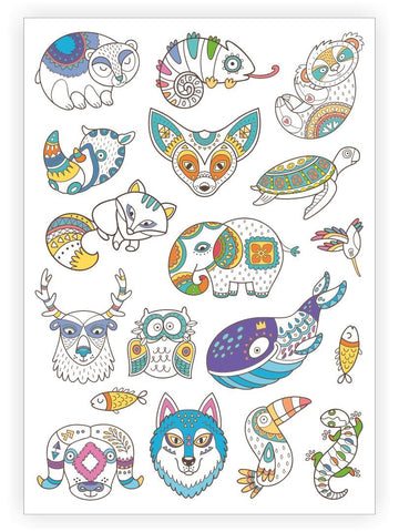 Woodland Temporary Tattoo - Little Owly