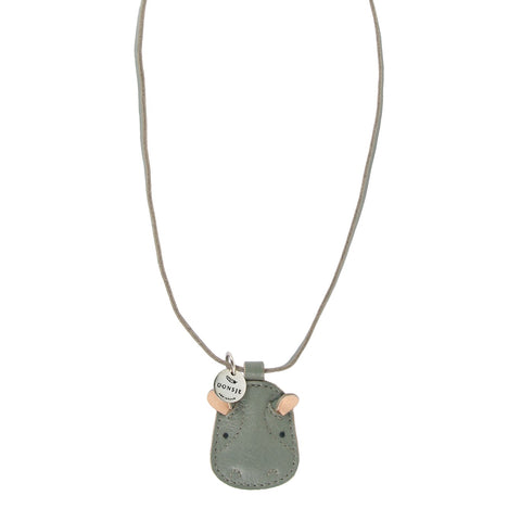 Wookie Hippo Necklace - Little Owly