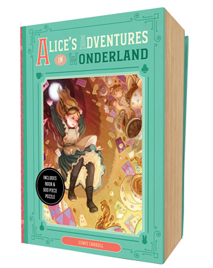 Alice's Adventures in Wonderland Book and Puzzle Box Set - Little Owly