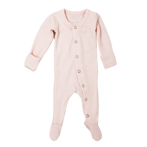 Organic Jumpsuit in Blush - Little Owly