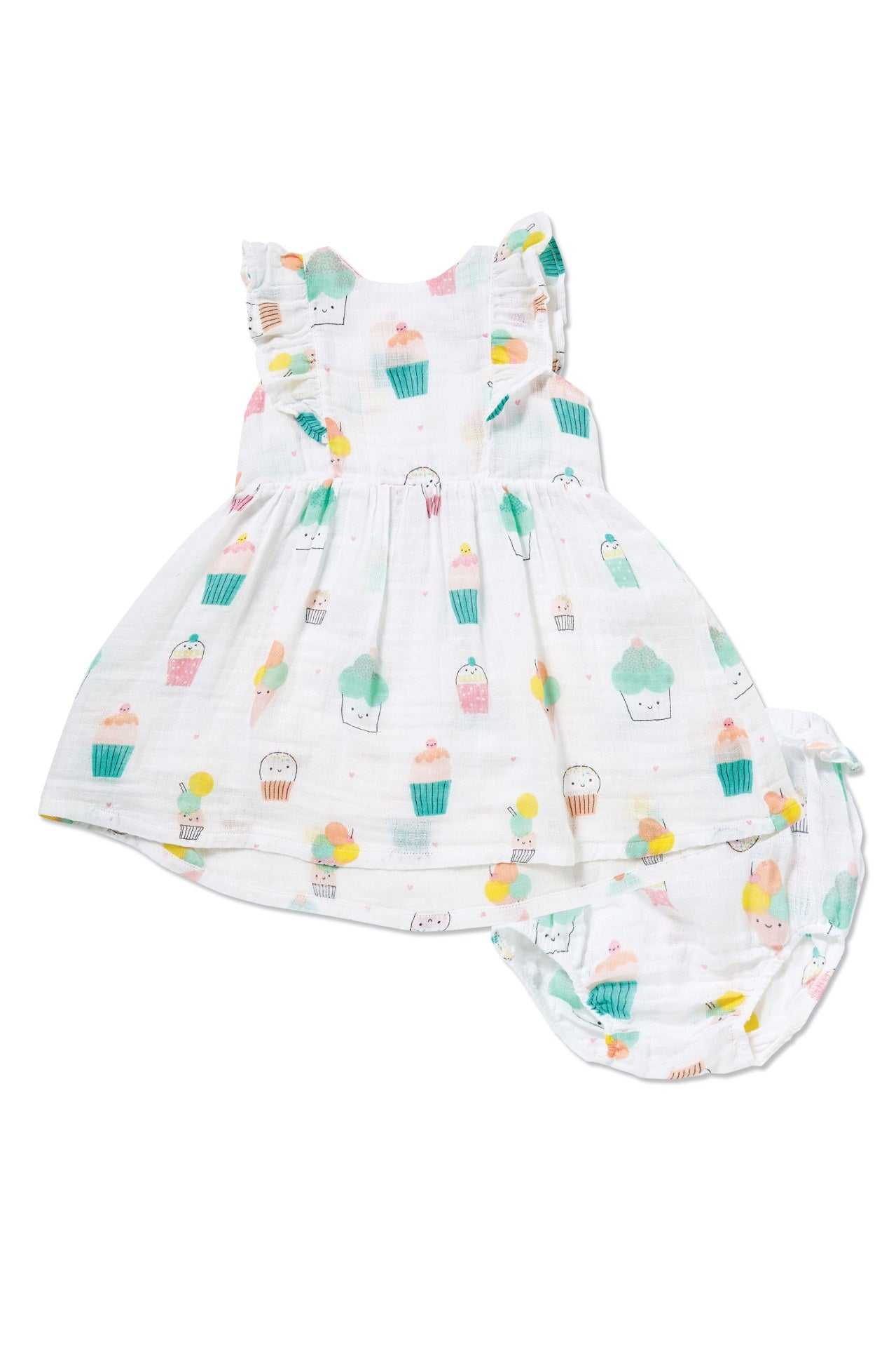 Sprinkles Ruffle Sundress - Little Owly