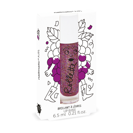 Blackberry Rollette-Roll-On Lip Gloss - Little Owly