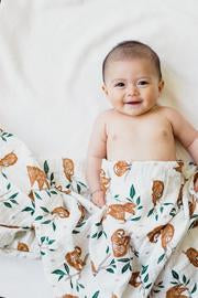 Slow Living Sloth Swaddle