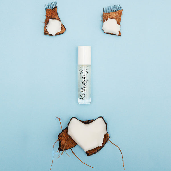 Coconut Rollette -Roll-On Lip Gloss - Little Owly