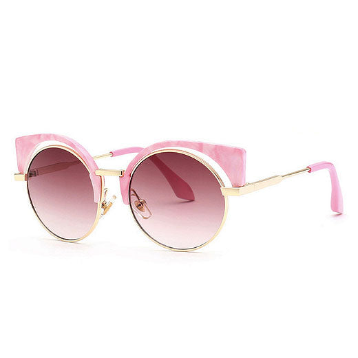 Pink Cat's Eye Sunglasses - Little Owly