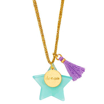 Large Star Dream Pendant Necklace - Little Owly