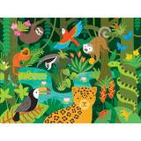 Wild Rainforest Floor Puzzle - Little Owly