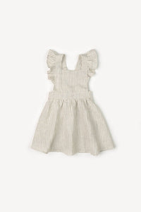 Mabel Ruffle Striped Dress - Little Owly