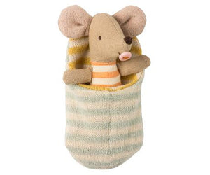 Baby Mouse in Sleeping Bag - Little Owly